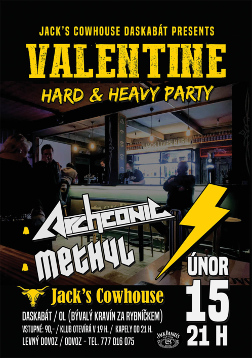 Valentine Hard & Heavy party - Jack's Cowhouse